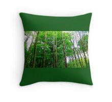 English Woodlands Throw Pillow