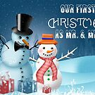 Our First Christmas As Mr. and Mrs. by Vickie Emms
