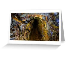 Tunnel of Gold Greeting Card