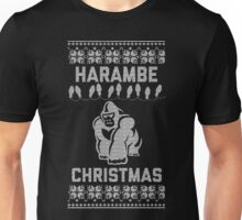 Harambe Christmas - Perfect Way To Remember One of Our Heroes Unisex T-Shirt