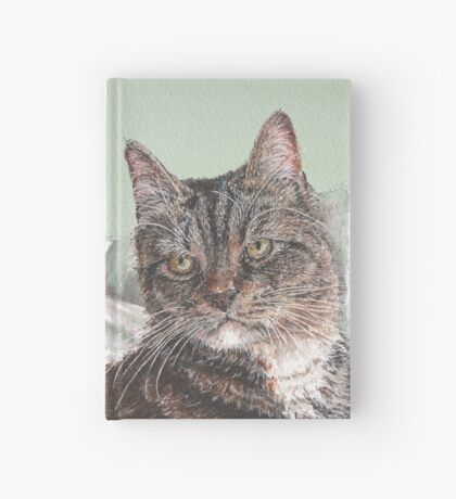 Tabby Cats - Alternative Background Colours Hardcover Journal