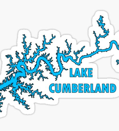 Lake Cumberland Kentucky Sticker