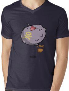 POOT! Mens V-Neck T-Shirt