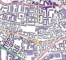 Multiple Deprivation South Bermondsey ward, Southwark Sticker