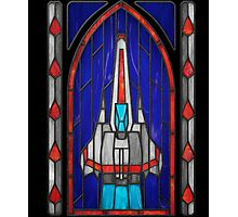 Stained Glass Series - Viper Photographic Print