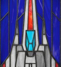 Stained Glass Series - Viper Sticker