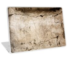 Old concrete wall with cracked texture Laptop Skin