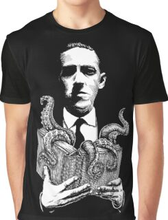 Storytime with Lovecraft Graphic T-Shirt