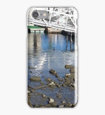 At the Yacht Harbor iPhone Case/Skin