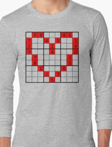puzzle of heart Long Sleeve T-Shirt