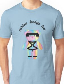 Rainbow Bondage Bear - Bondage Unisex T-Shirt