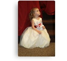 The Flower Girl Canvas Print