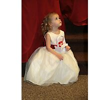 The Flower Girl Photographic Print