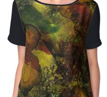 Abalone | Alcohol Ink Abstract Chiffon Top