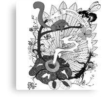 Rotting Flesh Lily (Rafflesia Arnoldii) Canvas Print