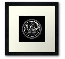 Bruce Lee & Ip Man Collaboration Black Variant Two Framed Print