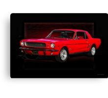 1966 Ford Mustang Coupe Canvas Print