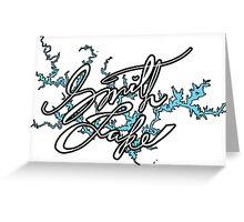 Smith Lake Alabama  Greeting Card