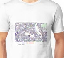 Multiple Deprivation St Dunstan's ward, Tower Hamlets Unisex T-Shirt