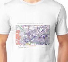 Multiple Deprivation Spitalfields & Banglatown ward, City of London Unisex T-Shirt