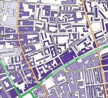 Multiple Deprivation Spitalfields & Banglatown ward, City of London Sticker