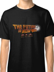 """The Future is Now"" - BTTF Classic T-Shirt"