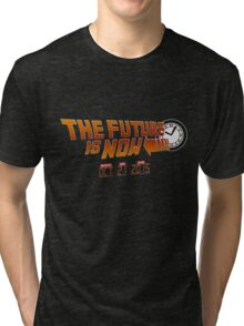 """The Future is Now"" - BTTF Tri-blend T-Shirt"
