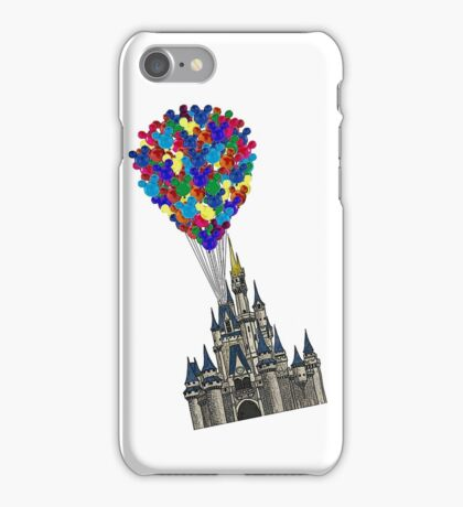 Castle Floating UP & Away iPhone Case/Skin