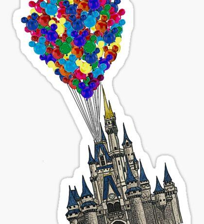 Castle Floating UP & Away Sticker