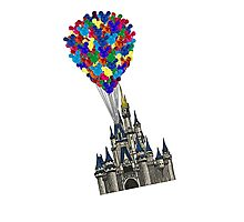 Castle Floating UP & Away Photographic Print