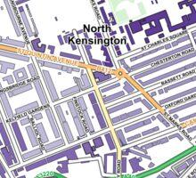 Multiple Deprivation St Helen's ward, Kensington & Chelsea Sticker