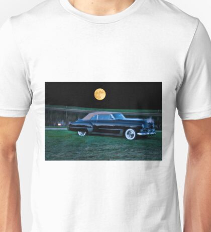 1948 Cadillac Series 62 Convertible 'Smooch'n in the Moonlight' Unisex T-Shirt