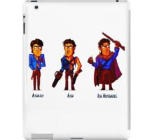 Ash Williams Evolution. iPad Case/Skin