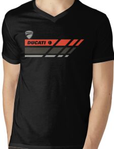 Ducati Mens V-Neck T-Shirt