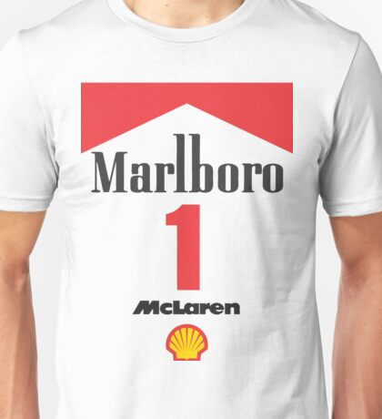 Senna Mclaren Unisex T-Shirt