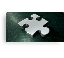 piece of the puzzle Canvas Print