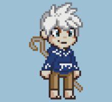 Stay Frosty - Jack Frost Pixel by geekmythology