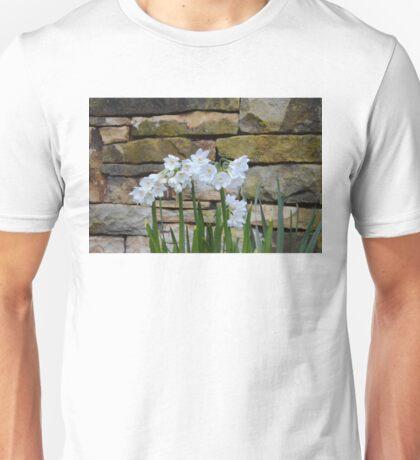 White Daffodils Unisex T-Shirt
