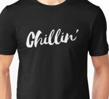 Chillin' - White Unisex T-Shirt