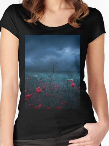 Dark Field Women's Fitted Scoop T-Shirt