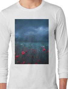 Dark Field Long Sleeve T-Shirt