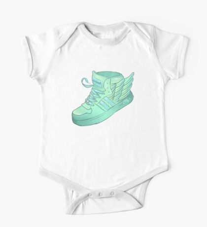 That's some fly shoes One Piece - Short Sleeve