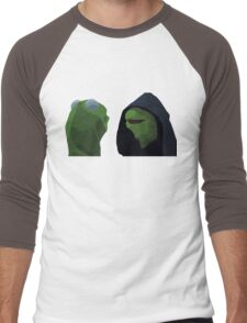 Evil Kermit Meme Men's Baseball ¾ T-Shirt