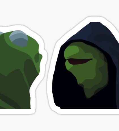 Evil Kermit Meme Sticker