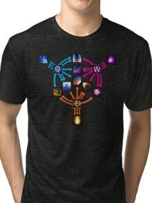 Invoker Cheat Sheet Tri-blend T-Shirt