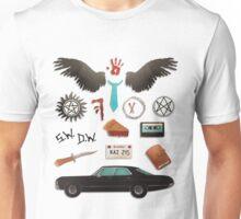 Supernatural Symbols Unisex T-Shirt