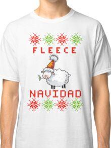 Fleece Navidad - Feliz Navidad Classic T-Shirt