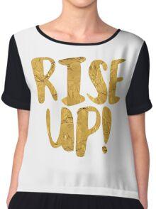 Rise Up! | Hamilton Chiffon Top