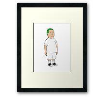 Blond Bobby Framed Print