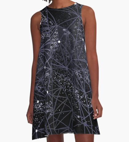geometry of space A-Line Dress
